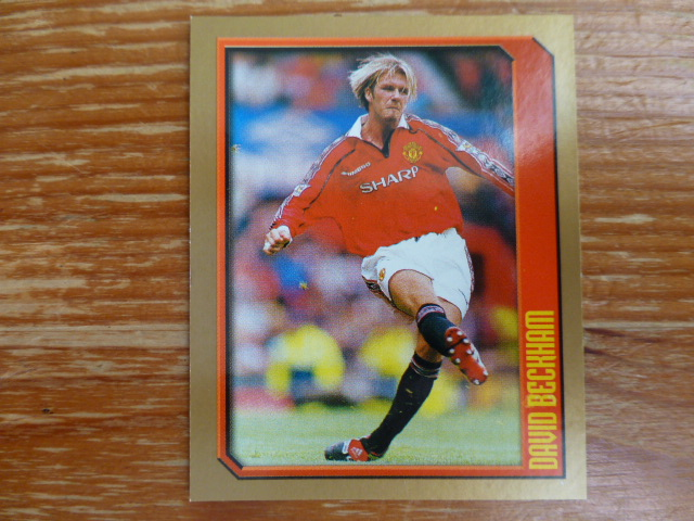 Merlin Premier League 2000 Sticker - Beckham (Action)