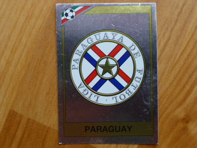 Panini Mexico 86 Badge - Paraguay