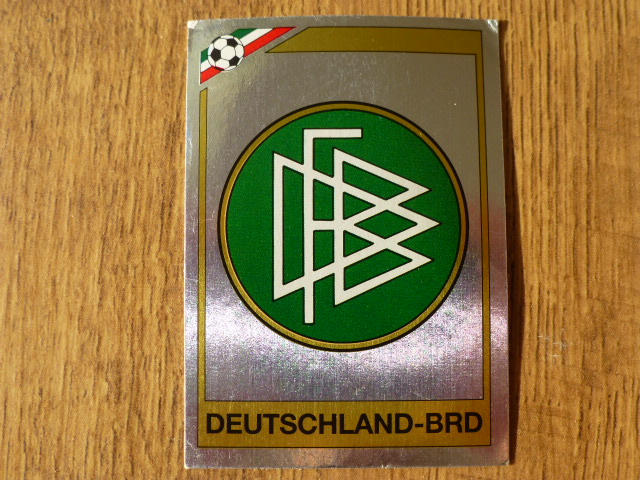 Panini Mexico 86 Badge - West Germany (1)