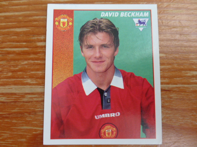 Merlin Premier League 97 Sticker - Beckham