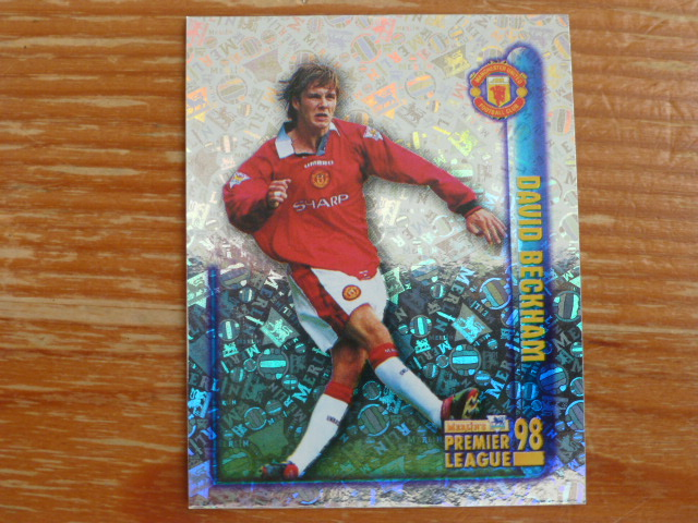 Merlin Premier League 98 Sticker - Beckham (Foil)