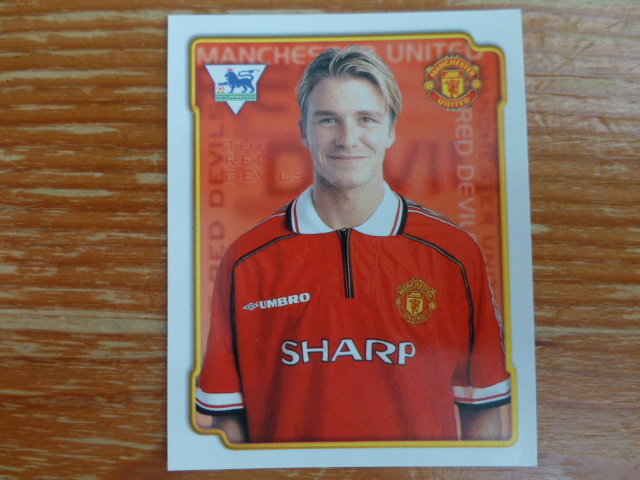 Merlin Premier League 99 Sticker - Beckham