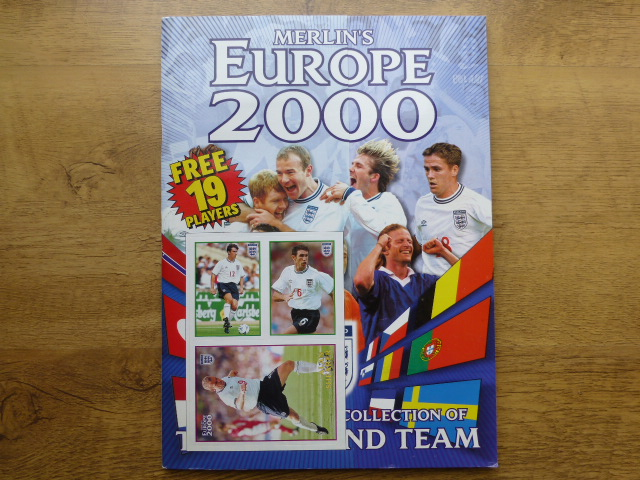 Merlin Europe 2000 Complete Sticker Album (01)
