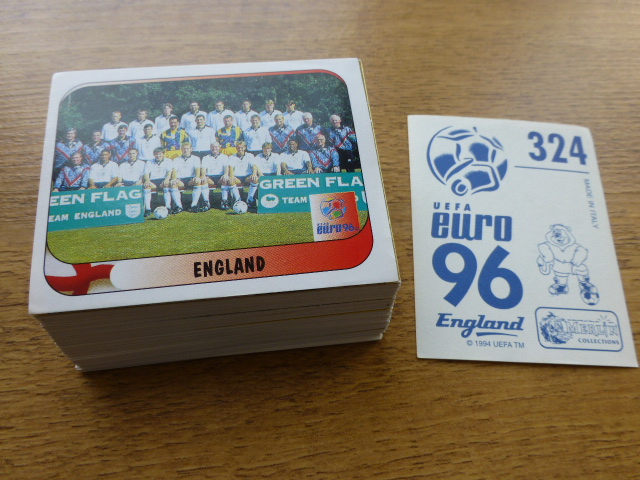 Merlin Euro 96 'Action Shot' Individual Stickers