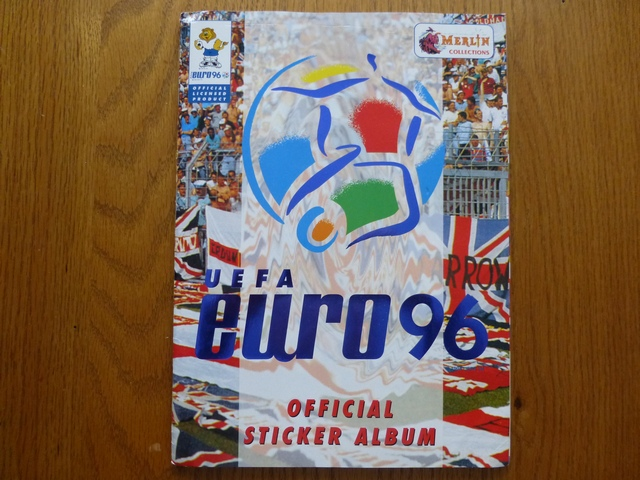 Merlin Euro 96 (Action Shots) Complete Sticker Album (01)