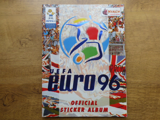 Merlin Euro 96 (Head Shots) Complete Sticker Album (02)