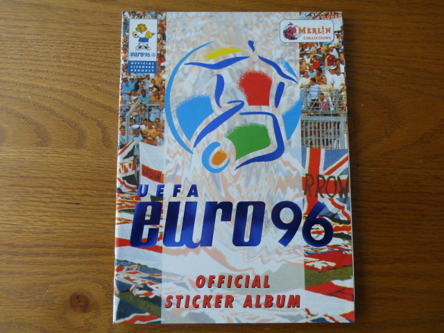 Merlin Euro 96 Empty Sticker Album (01)