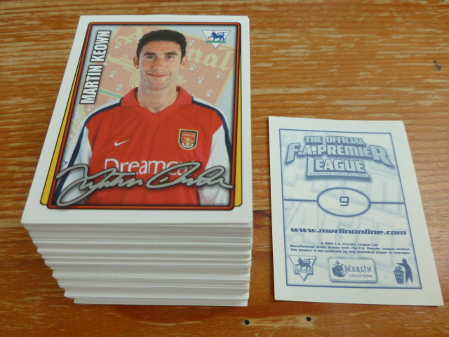 Merlin Premier League 2002 Individual Stickers