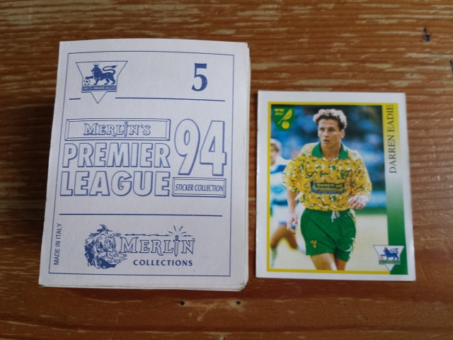 Merlin Premier League 94 Individual Stickers