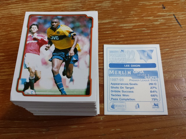 Merlin Premier League 99 Individual Stickers