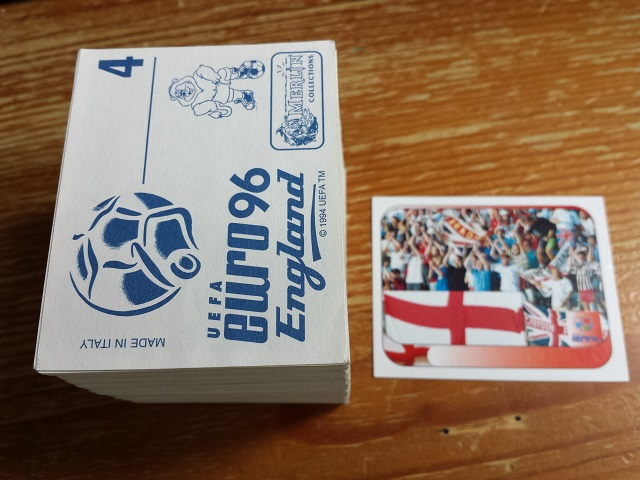 Merlin Euro 96 Individual Stickers