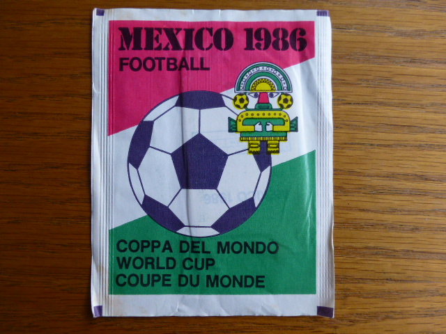 Mammoth Fleer Mexico 1986 Sticker Pack