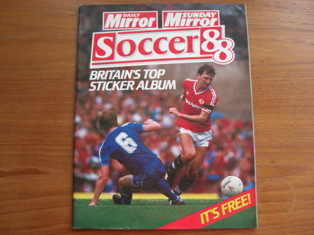 Daily Mirror Soccer 88 Part-Filled Album