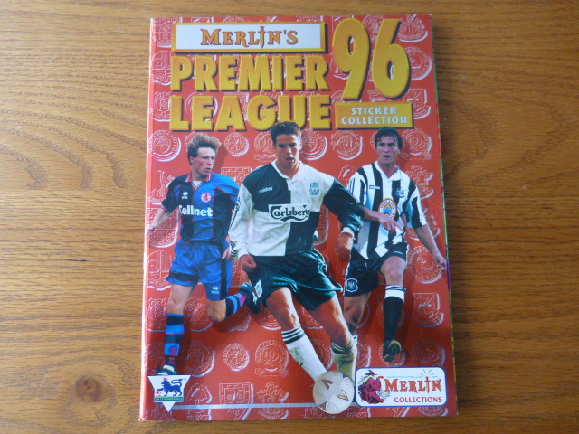 Merlin Premier League 96 Empty Sticker Album (01)