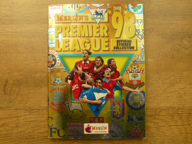 Merlin Premier League 98 Complete Sticker Album (01)