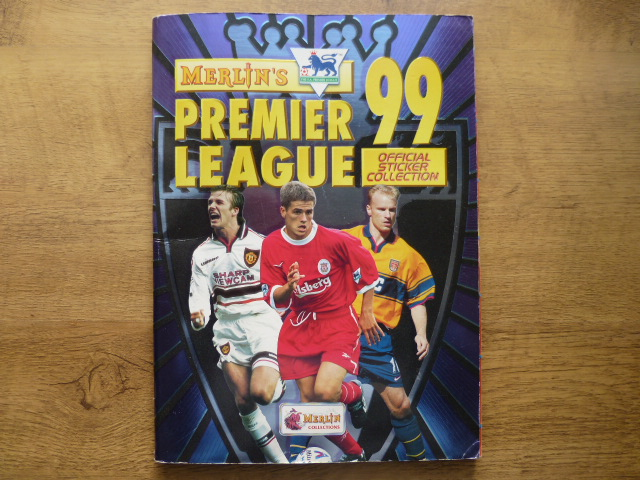 Merlin Premier League 99 Complete Sticker Album (01)