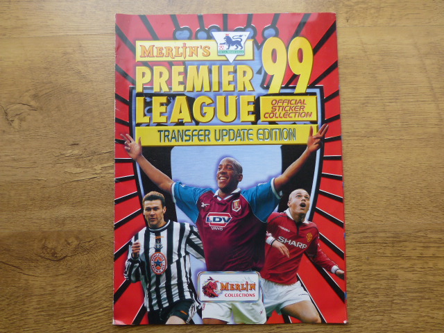 Merlin Premier League 99 Transfer Update Complete Sticker Album (01)