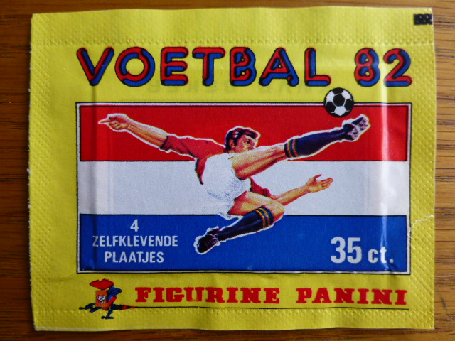 Panini Voetbal 82 Sticker Pack (Netherlands)
