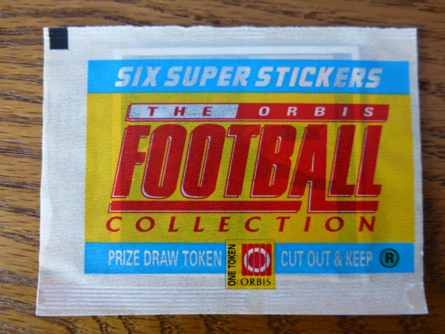 Orbis Football Collection Sticker Pack