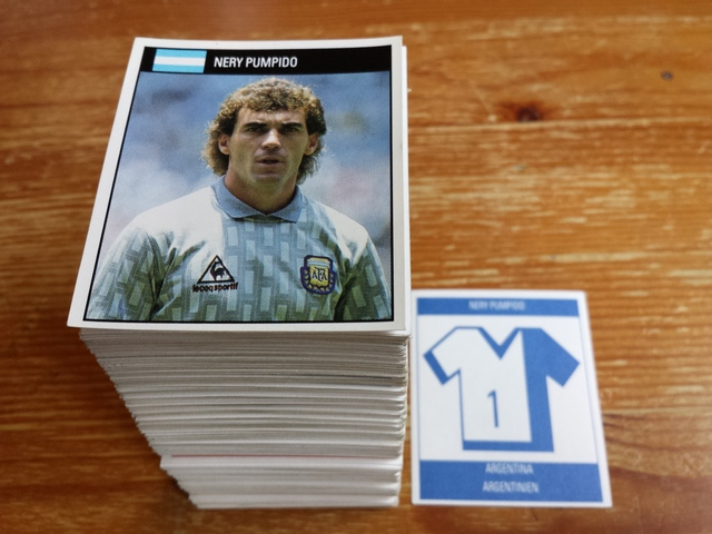Orbis World Cup Italia 1990 Stickers
