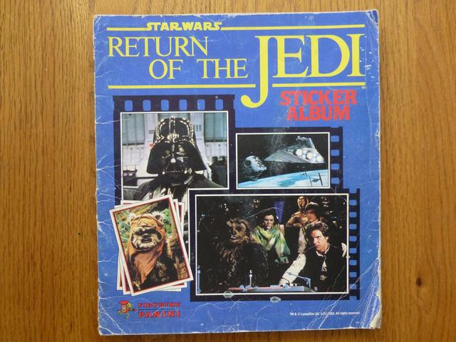 Panini Return Of The Jedi - Complete Album (02)