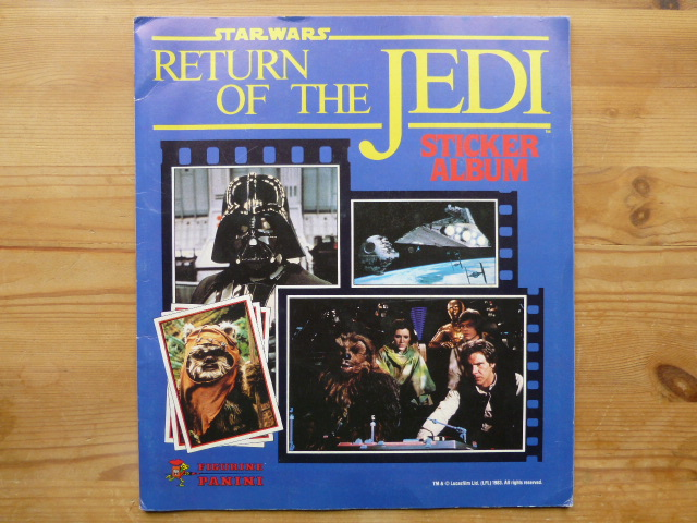 Panini Return Of The Jedi - Complete Album (03)