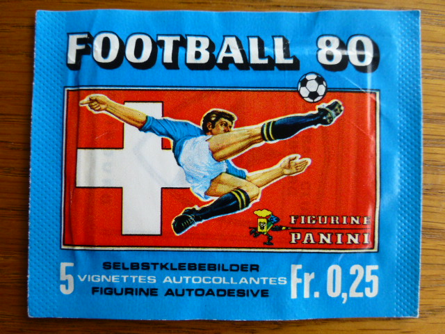 Panini Swiss Football 80 Sticker Pack