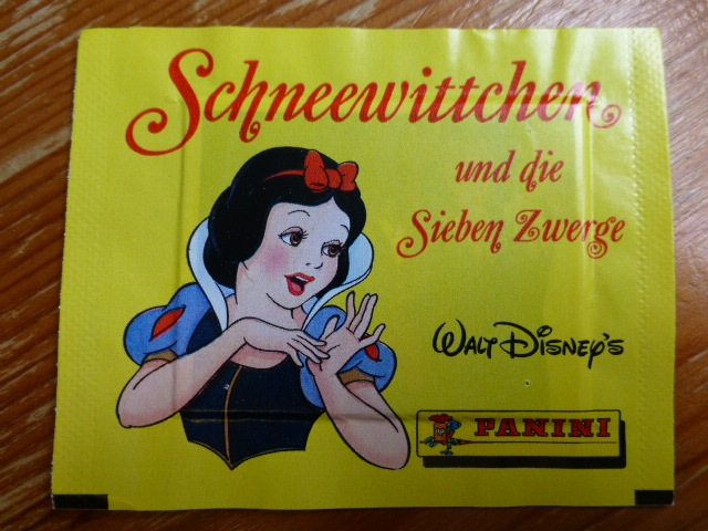 Panini Snow White Sticker Pack