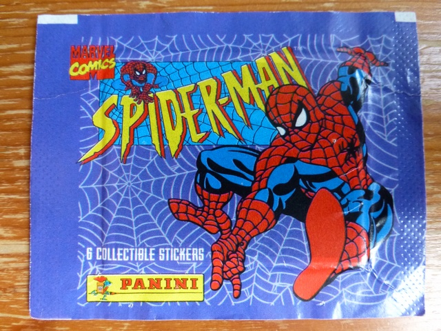 Panini Spiderman Sticker Pack