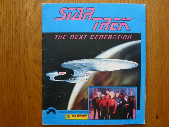 Panini Star Trek - The Next Generation - Complete Album (01)