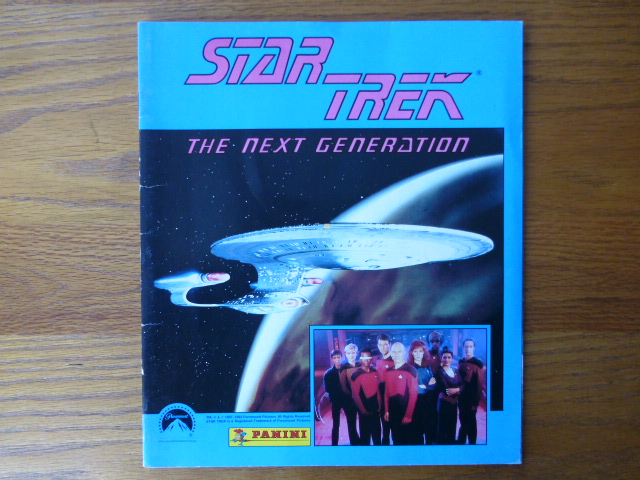 Panini Star Trek The Next Generation - Empty Album (01)