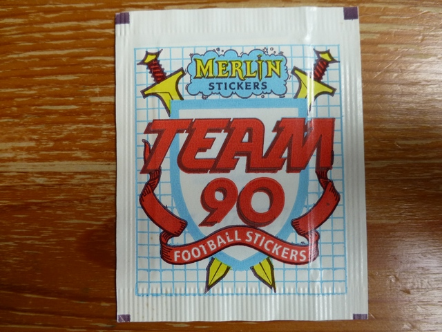 Merlin Team 90 Sticker Pack