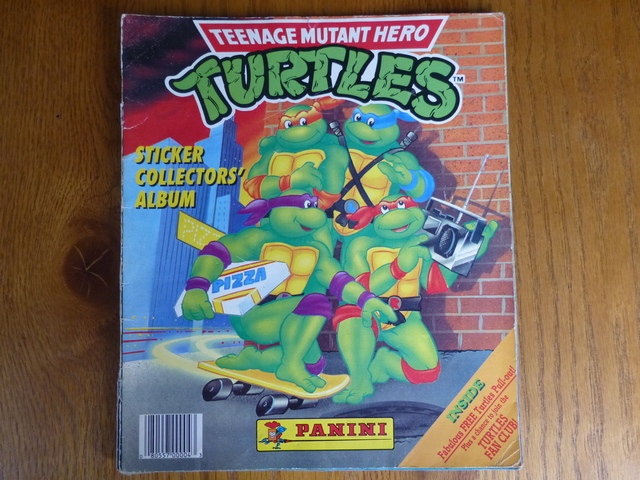 Panini Teenage Mutant Hero Turtles - Complete Album (01)