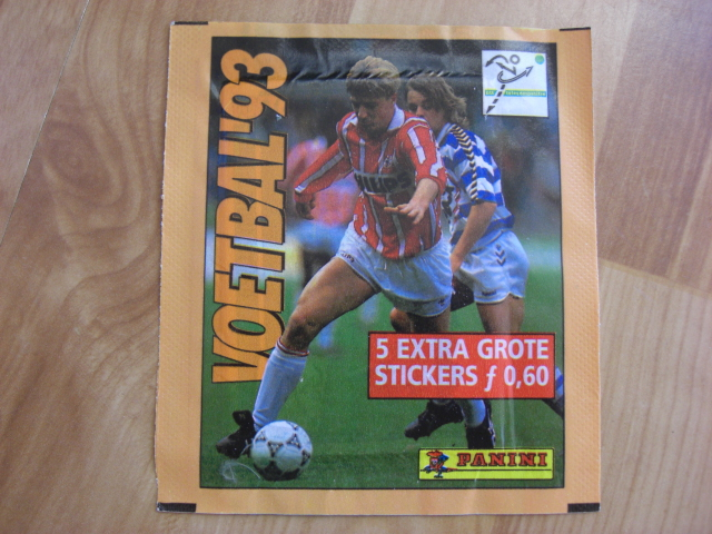 Panini Voetbal 93 Sticker Pack (Netherlands)